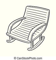 動揺, ベクトル, 椅子