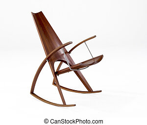 動揺, 現代, 中央の, 椅子, 世紀