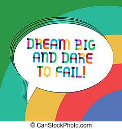 動机顏色, 相片, 錯誤, 橢圓形, 準備, 做, 寫, 筆記, 演說, 正文, 氣泡, 顯示, 空, 事務, 大, 概述, 敢, 靈感, balloon., 固体, showcasing, 夢想, fail.