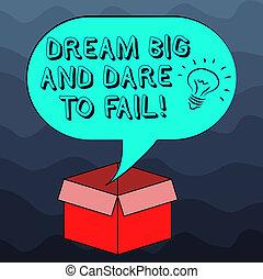 動机, 相片, 在上方, 想法, 錯誤, 空白, 打開, 準備, 做, 寫, 筆記, 演說, 紙盒, 氣泡, box., 事務, 大, 顯示, halftone, 敢, 圖象, 裡面, 靈感, showcasing, 夢想, fail.