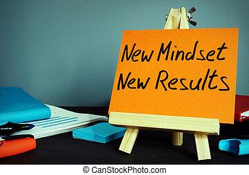 動機づけ, concept., results., 新しい, mindset, インスピレーシヨン