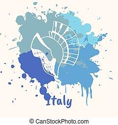 動機, 魅力, 感情である, 歴史的, イタリア語