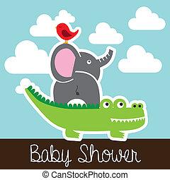 動物, 嬰兒送禮會