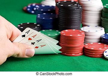 勝利, ポーカー