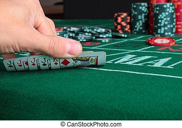 ∥, 勝利 手, ポーカー