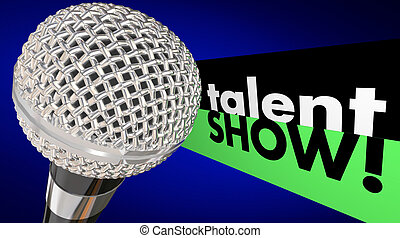 勝利, 競争, 能力を発揮しなさい, マイクロフォン, ショー, 才能, 歌いなさい
