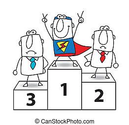 勝者, superhero