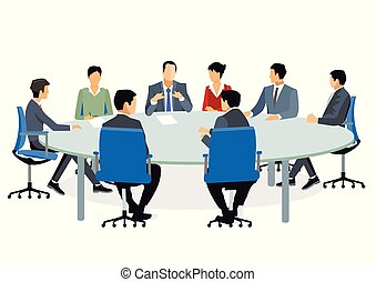 勸告, 會議, 商業界人士