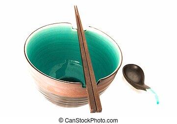 勺子, 碗, 筷子