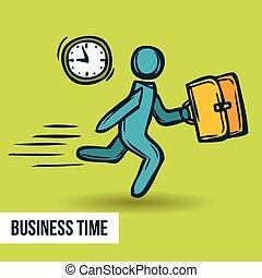 勾画, 管理, 商业, 时间
