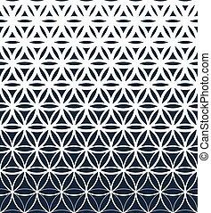 勾配, パターン, 幾何学的, seamless