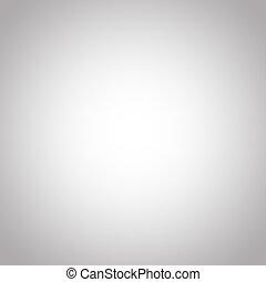 勾配, 抽象的, 白, 灰色, 背景