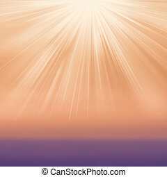 勾配, 抽象的, burst., textured, 背景, 太陽ライト, typo