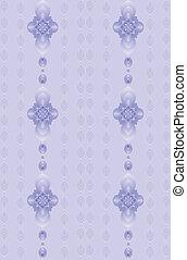 勾配, 紫色, 花のパターン
