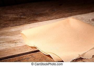 包装紙, 空, きれいにしなさい, 小片