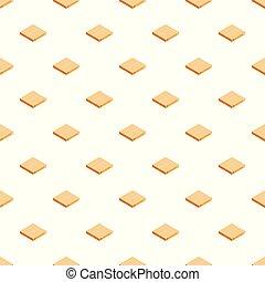 包装, 箱, ベクトル, seamless, パターン