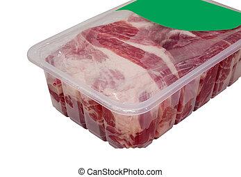 包装, 肉, 真空