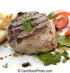 包裹, 咸肉, 牛肉肉片