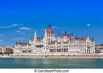 匈牙利人, 議會, 在, 布達佩斯, 匈牙利