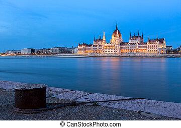 匈牙利人, 議會, 在, 布達佩斯