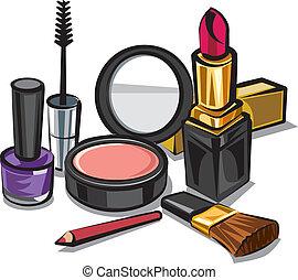 化妆, 成套用具