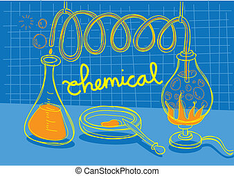化学物質, 実験