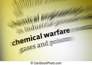 化学物質, 戦争