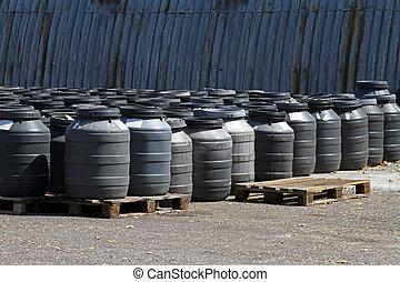 化学物質, 樽