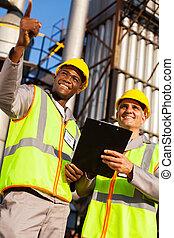 化学物質, 産業, オイルの労働者