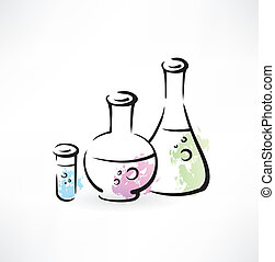 化学, グランジ, アイコン