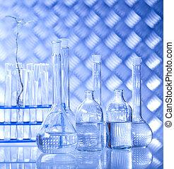 化學制品, 玻璃器皿, 實驗室