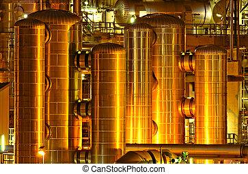 化學的生產, 設施