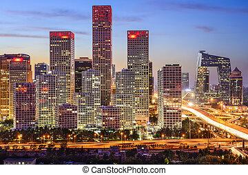北京, 財政 地区