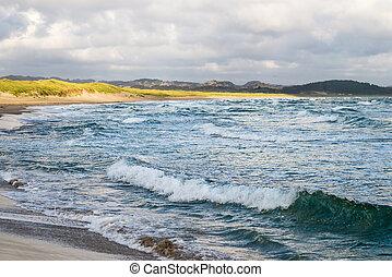 北方海滩, 海, norway