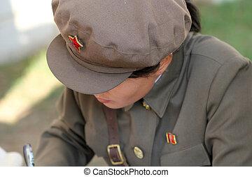 北方korean, 女孩