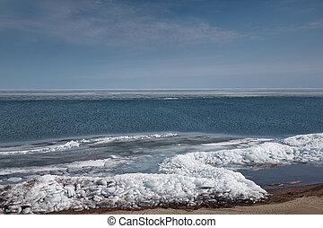北極, 場景