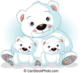 北極, 息子, 熊, 彼女, 母