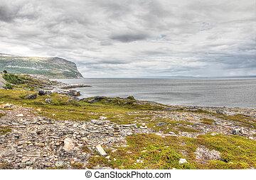 ノルウェー語, 北, 風景. 山, 北...