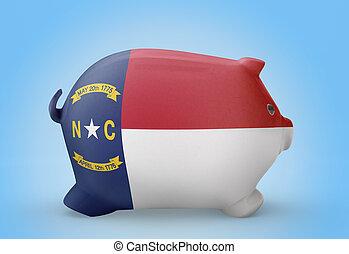 北, .(series), 旗, 貯金箱, カロライナ