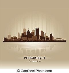 匹茲堡, 賓夕法尼亞, 地平線輪廓, 城市