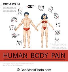 医学の概念, 漫画