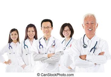 医学, アジア人, チーム