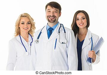 医学 チーム, 医者