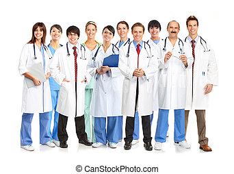 医学, 人々