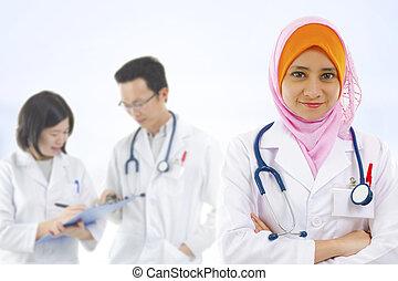 医学, 多様性, チーム