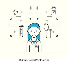 医学, 女, 研究