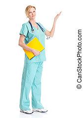 医学, 微笑, 看護婦