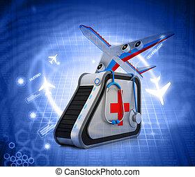 医学, 観光事業