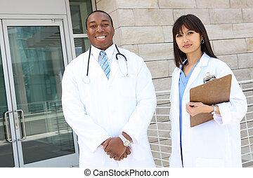 医学, 魅力的, チーム