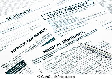 医療保険, 形態